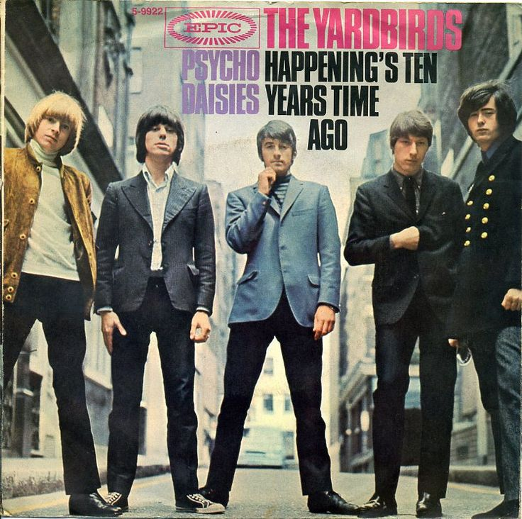 The Yardbirds - Jeff Beck & Jimmy Page in one band, they could have have been massive if those guys just stuck around...