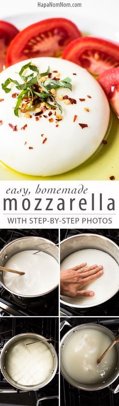 Make Homemade Mozzarella in just 30 Minutes!
