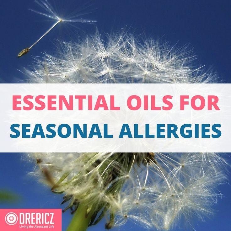 Let's learn how to combat allergies of various kinds with natural remedies, lifestyle changes, and of course, essential oils for allergies.