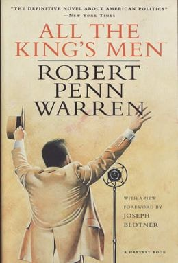 All The King's Men by Robert Penn Warren this was really great. Warren's writing is fascinating. Characters deep. Tragedy