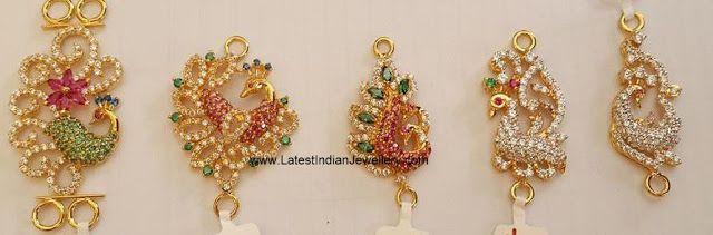 peacock side pendants