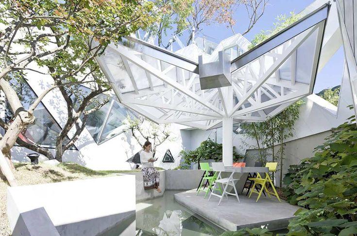 Island House By Iroje Khm Architects South Korea The River And - Bu-yeon-dang-by-iroje-khm-architects