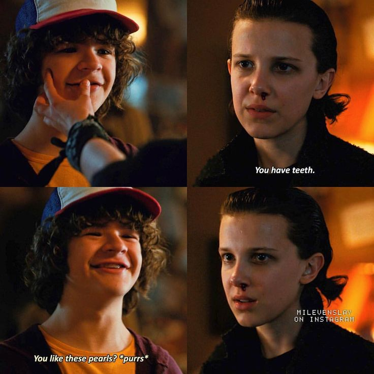 """9,478 Likes, 102 Comments - Stranger Things (@milevenslay) on Instagram: """"[2x09] Boredom — Dustin, Eleven or Mike? — Give credit when using ic: strangerparts"""""""