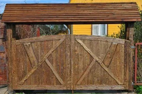 деревянные ворота под старину фото: 15 тыс изображений найдено в Яндекс.Картинках