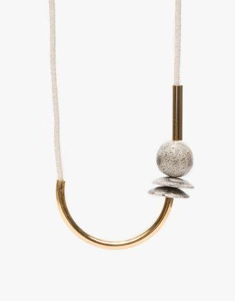 Chock A Block Gold & Off-White, Maslo Jewelry