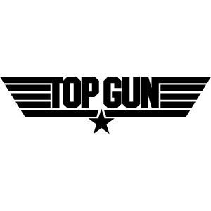 top gun Movie Logo | Home > Decals & Stickers > Films and TV Series > Top Gun