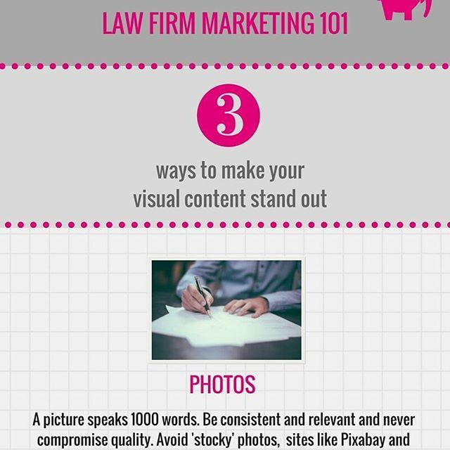 23 best content law firm lawyer maketing images on pinterest new infographic on the blog 3 ways to make your law firm visual content stand fandeluxe Choice Image