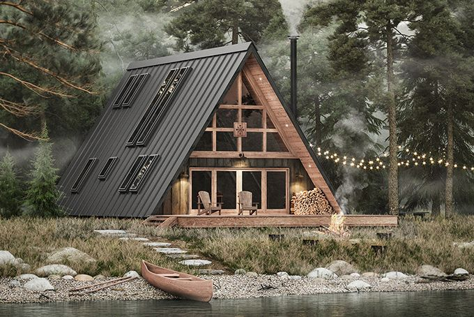 12 Best Prefab Cabins Of 2020 Hiconsumption In 2020 A Frame House Plans Prefab Cabins A Frame House