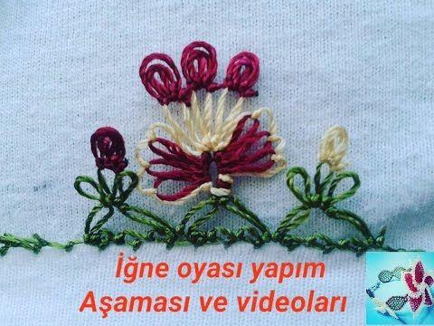 *** kolay iğne oyası örnekleri *** Farklı bir kelebek modeli *** diy - YouTube