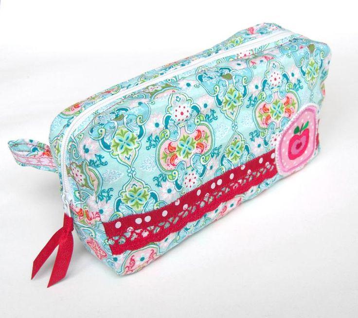 st_design: Miniorganizer, pattern by farbenmix.de #sewing #nähen #patterns #diy #handmade #bags #taschen #taschenspieler2