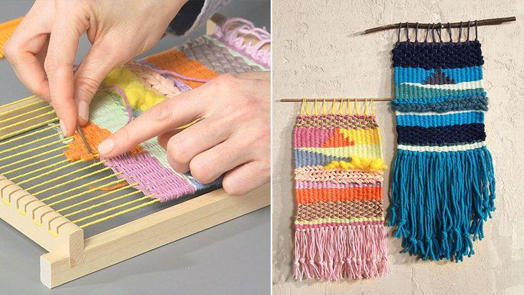Weben lernen - Textilgestaltung lernen - Makerist Kurs