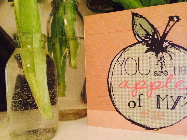 You are the apple of my eye Valentines etsy thingsilove