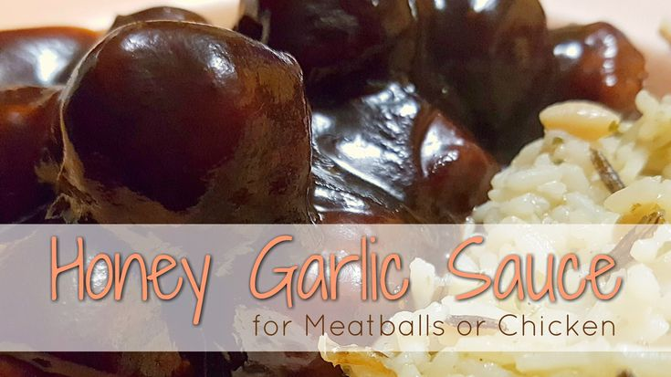 This Honey Garlic Sauce is fabulous on meatballs or chicken. When we make anything with garlic, we tend to add a little more than the average person may. So, for a milder garlic flavour, simply add 3 cloves instead of the 4 listed in the recipe. Meatballs are an easy thing …