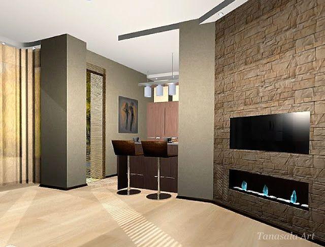 Бамбук в интерьере квартиры