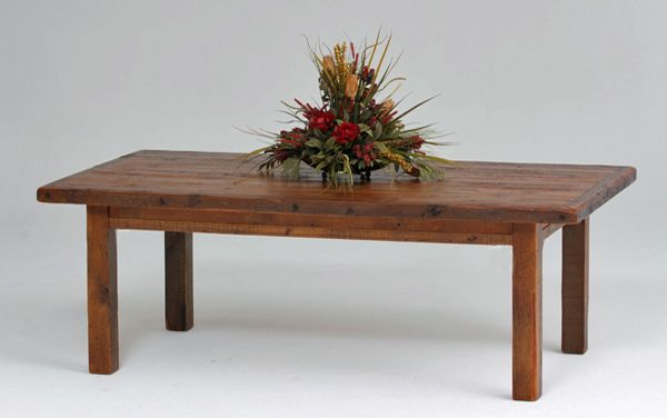 Handcrafted Rustic Farmhouse Tables Made From Distressed