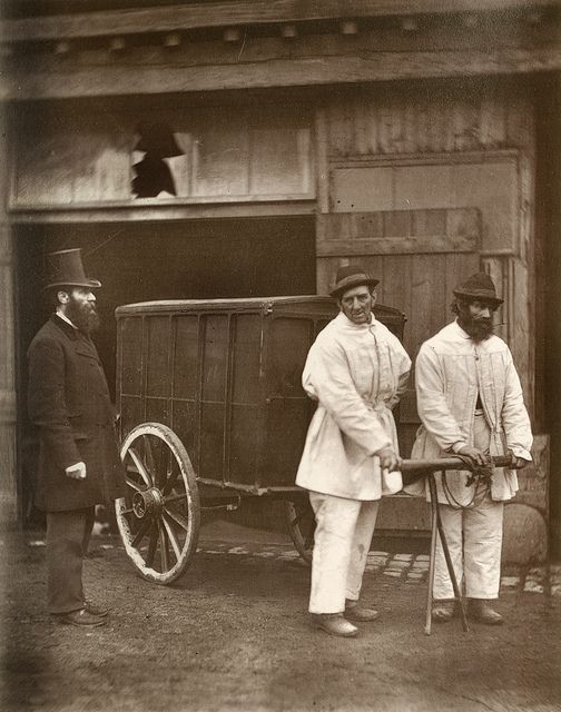 Public Disinfectors From 'Street Life in London', 1877, by John Thomson and Adolphe Smith