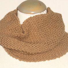 Snood tricoté main pour homme...ou femme !