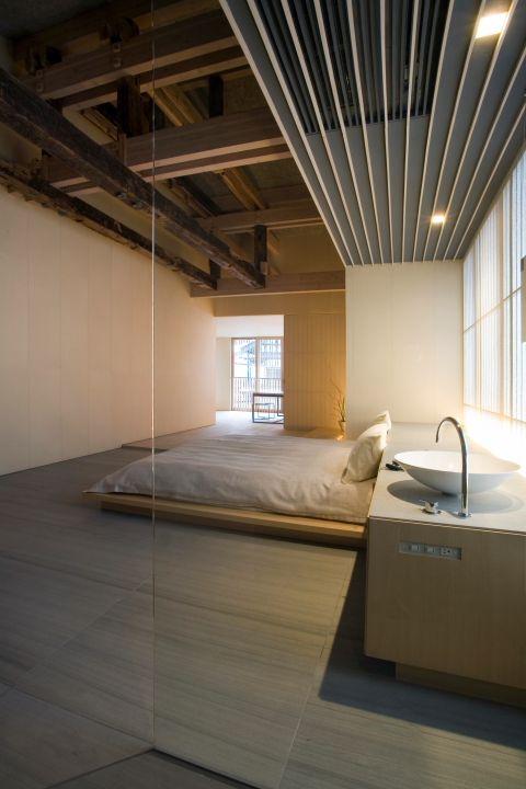 #minimalist #bedroom Fujiya Onsen by Kengo Kuma  Photo © Jimmy Cohrssen  Yamagata, Japan,  Go To www.likegossip.com to get more Gossip News!