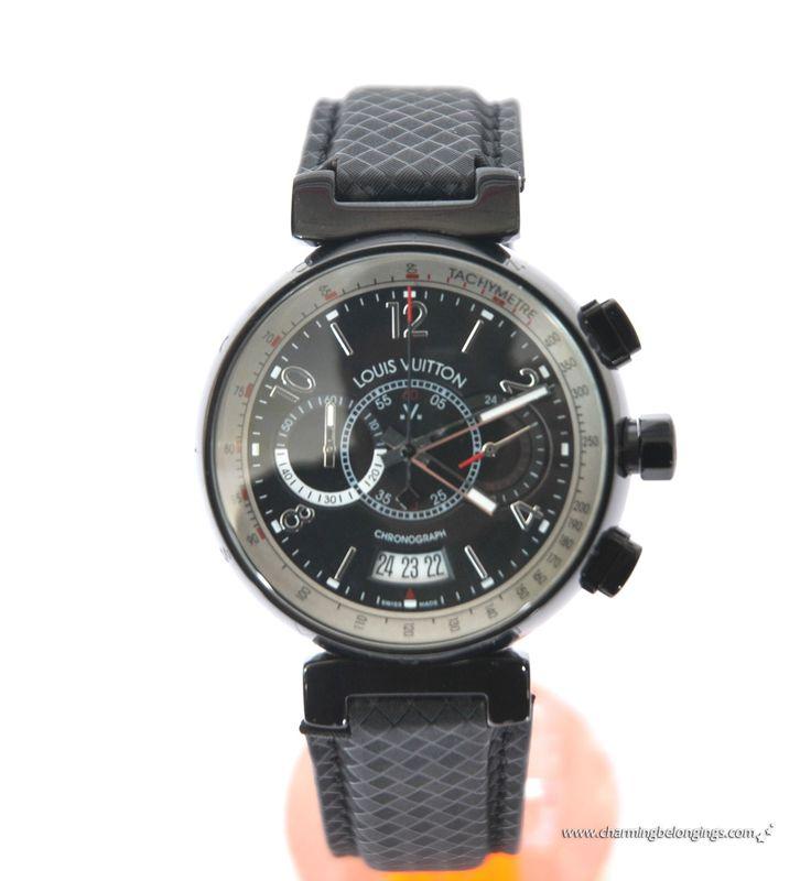 Louis Vuitton watch for Men | with tachmetre 44MM Men`s watches [Q102N0] - $194.00 : Louis Vuitton ...