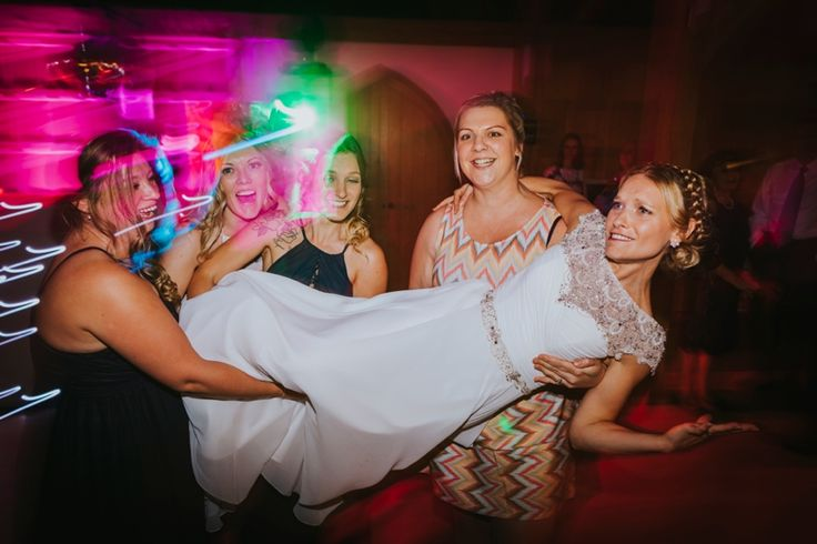 And the bride's version! Photo by Benjamin Stuart Photography #weddingphotography #bride #girls #weddingday #weddingfun #party