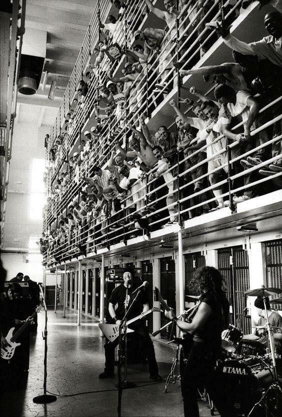 St Anger, May 1, 2003 in San Quentin Prison