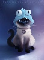 siamese cat by *Apofiss on deviantART