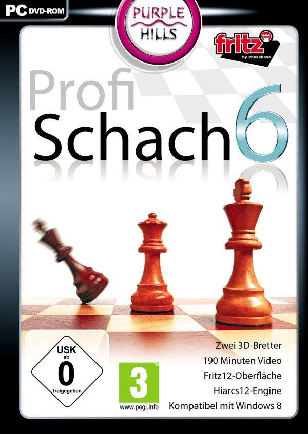 Profi Schach 6 - Dieses Schach-Programm lässt keine Wünsche offen.  Aufgrund des einstellbaren Schwierigkeitsgrades ist Profi Schach 6 sowohl für den Anfänger als auch für den professionellen Spieler geeignet. Eine Datenbank mit über 1,5 Million Partien, ein leicht verständlicher Videokurs und die integrierte Online-Funktion lässt Ihre Spielstärke in kürzester Zeit ansteigen. Messe dich mit Spielern aus der ganzen Welt!