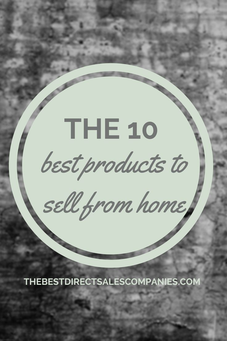 Selling products from home has become increasingly popular in recent years. Direct sales companies have made available endless opportunities to those that have the entrepreneurial itch but maybe not the skills or investment capital to start a business from scratch. If you are looking for products to sell from home, here are 10 industries to consider.