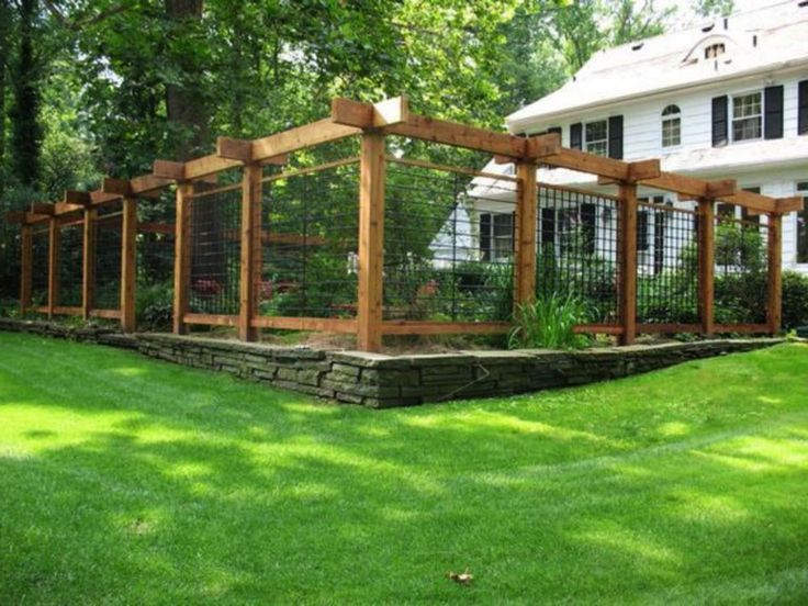 20+ Amazing Vegetable Garden Fence Ideas #gardenin…