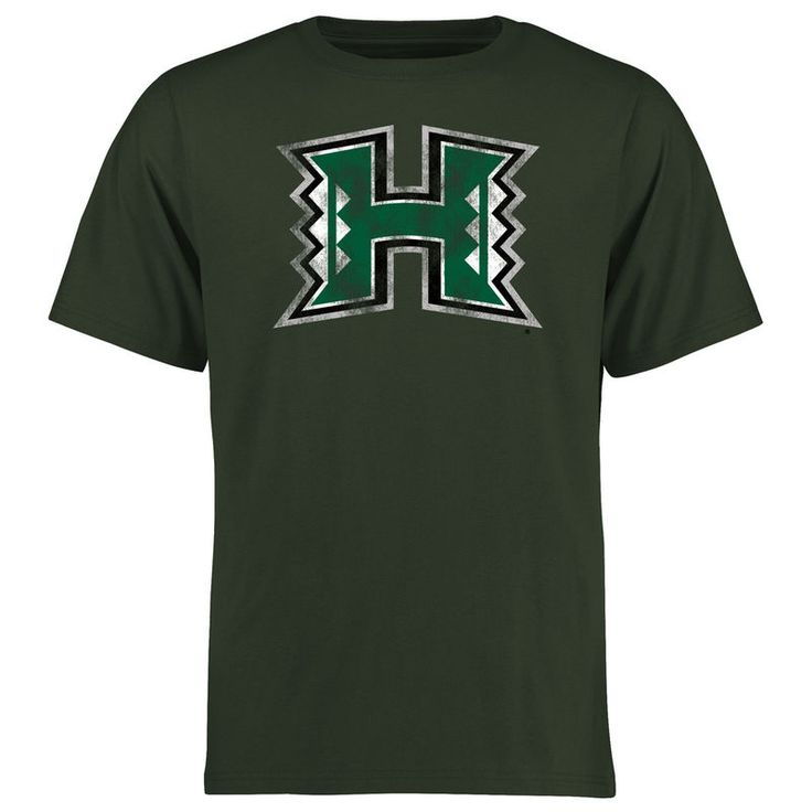 Hawaii Warriors Big & Tall Classic Primary T-Shirt - Green