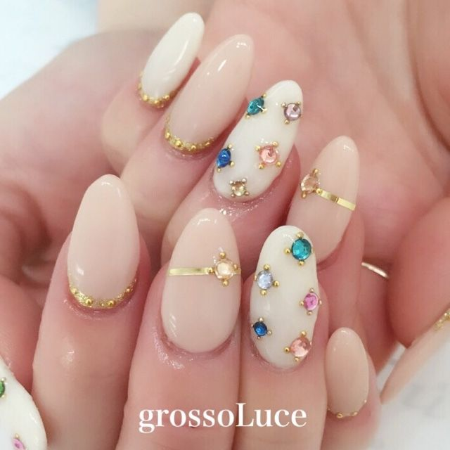 gemstone nails