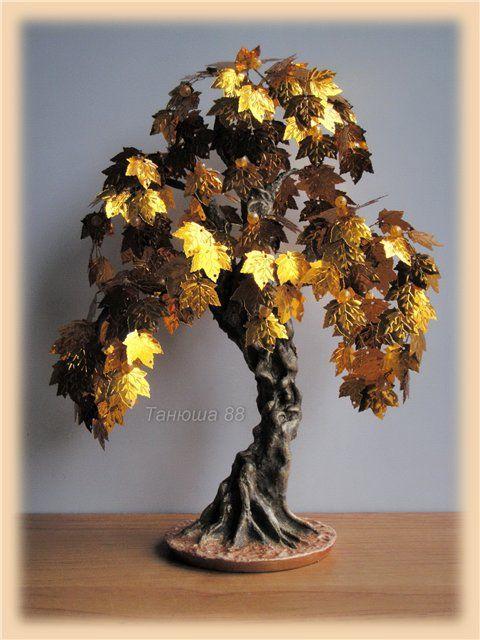 деревья из пайеток мастер класс - Поиск в Google