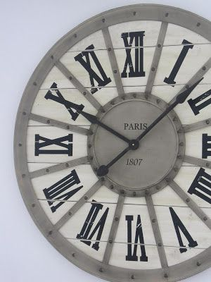 Wonderful Ich Habe Mal Wieder In Belgien Eingekauft. Diesmal Eine Riesige Uhr. Sie  Hat Einen Durchmesser Von Knapp Einem Meter. Die Wanduhr Ist Grau. Good Looking