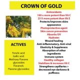 Crown of Gold and its active ingredients.