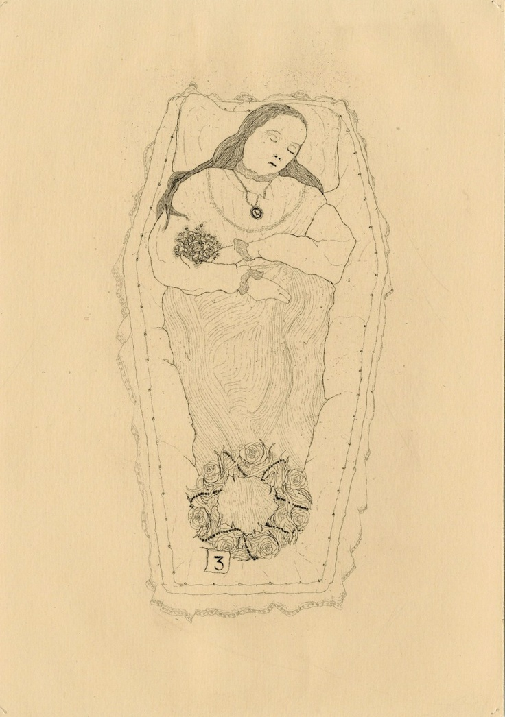 The Hüberman Children and Rabbit (plate one) // copper etching // Eleanor Phillips