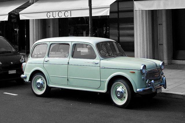 Encore! Life, | ♕ |  Classic car in Vieux Monaco - Fiat 1100...