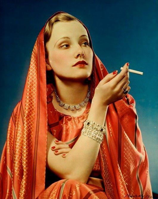 Lucky Strike, circa 1936  Photographer: Nickolas Muray