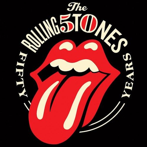 Rolling Stones  To mark their 50th anniversary, English rock band, The Rolling Stones, has unveiled a new logo, designed by American contemporary designer and illustrator Shepard Fairey.