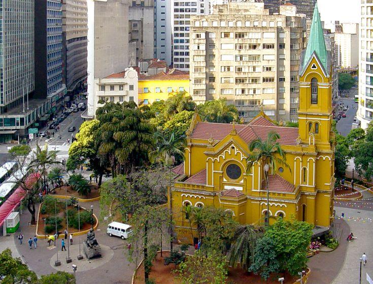 Igreja da Irmandade Nossa Senhora do Rosário dos Homens Pretos - Largo do Paissandu - São Paulo - SP
