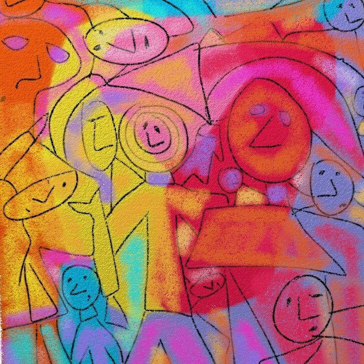 Inspiración Klee Artrage by lorenacarreño