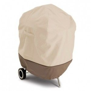 """Deluxe Guard™ Kettle BBQ Cover 