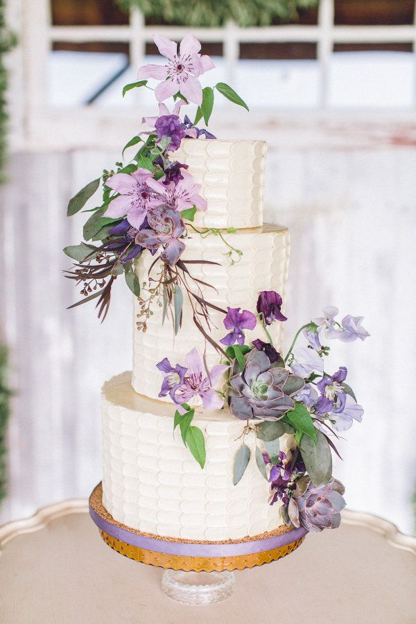 168 best Purple Power Wedding images on Pinterest | Weddings, Cake ...