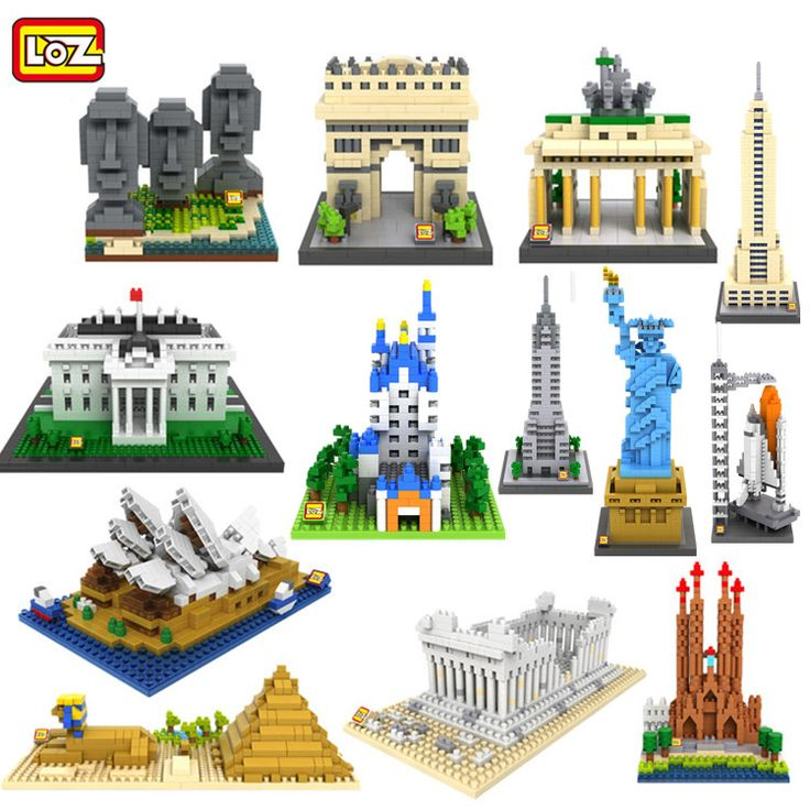 Find More Blocks Information about New 3d Architecture Model Kits Briques LOZ Construction Building Bricks Nanoblock Building Diamond Blocks Toys Modelismo,High Quality toy rabbit,China toy crab Suppliers, Cheap toys amazing from TOUCH Toy Co.,Ltd on Aliexpress.com