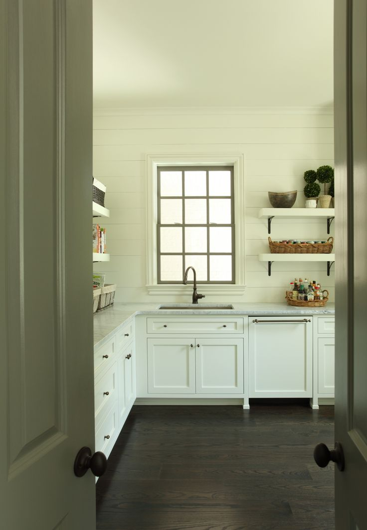 Scullery, dirty kitchen, pantry, by any name a fabulous feature. Hedgewood custom home.
