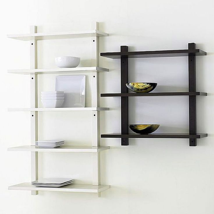 Wooden Wall Mounted Book Shelf: 50 Best Wall Mounted Shelves Images On Pinterest