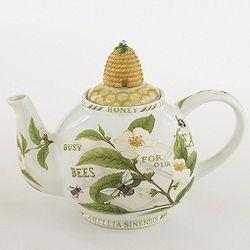 Cardew Design Tea Plant Honey Bees Six Cup Teapot