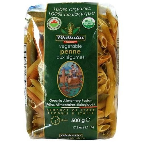 Bioitalia Penne Veg Pasta (12x17.6oz )