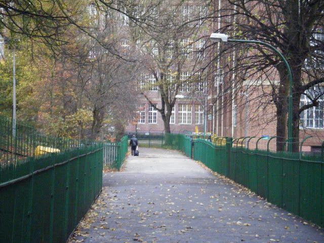 Birdcage Walk, Cadbury Factory - Autumn ....Such happy memories walking along here...