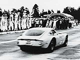 The Toyota 2000GT, during speed trials in the 1960's. More cool cars at the Toyota history pages. http://www.toyota.com.bh/pages/history/1960_1969.php
