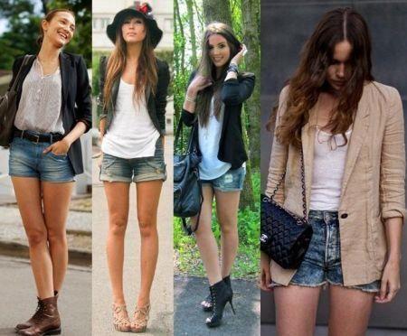 Шорты носить с короткими носками